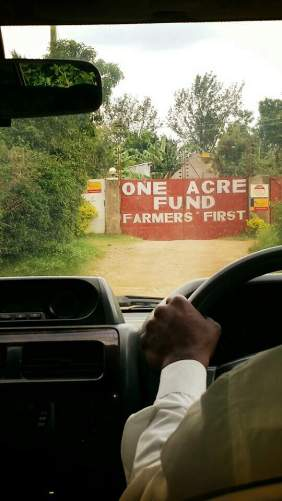 Entrance to OAF