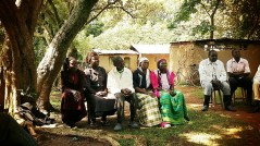 Kenyan farmers in OAF training session