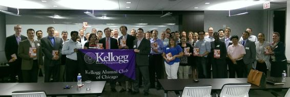 With the Kellogg Chicago West Alumni
