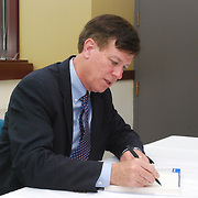 Book signing at the Driehaus College of Business at DePaul University