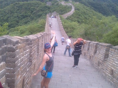 Fun at the Great Wall!