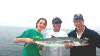 With a bit of teamwork, Harry and daughter, Shannon, managed to reel this one in!