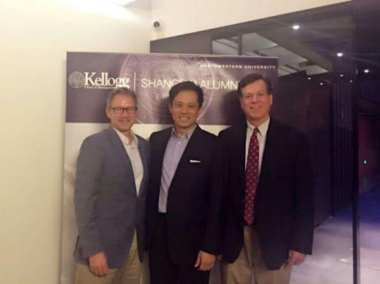 Visit with the Kellogg Shanghai Alumni Club