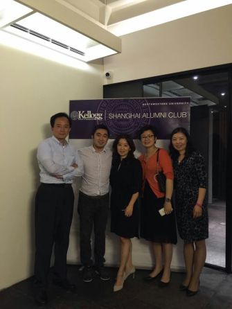 Visit with the Kellogg Shanghai Alumni Club